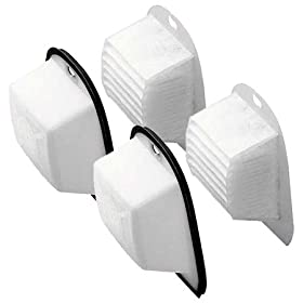 Black and Decker VF20 Double Action DustBuster Filter Set 2-PACK