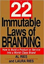 The 22 Immutable Laws of Branding 1st (first) edition Text Only