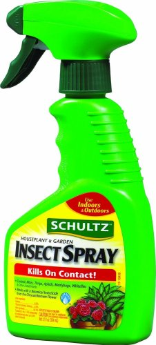Schultz 1041 Houseplant & Garden Insect Spray Ready to Use, 12 fl oz.