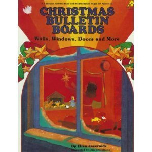 Christmas Bulletin Boards, Walls, Windows, Doors (Christian Bulletin Board Series)