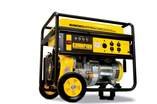 Champion Champion Power Equipment 41135 6,800 Watt 338cc 4-Stroke Gas Powered Portable Generator (CARB Compliant)