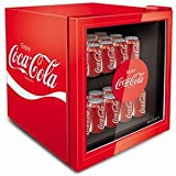 #10: HUS-EL188 48 Litre Coca Cola Glass Fronted Mini Fridge