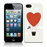 Call Candy Love Is In The Air Novelty Case for iPhone 5S - Grey/Red/Black/White