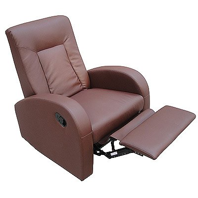 LPD Furniture Miami Recliner Chair, In Brown
