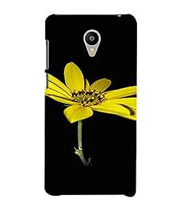 PrintVisa Flower Design 3D Hard Polycarbonate Designer Back Case Cover for Meizu MX5