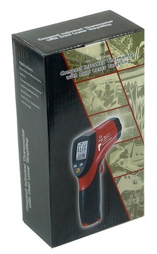 Ruby Electronics Dt-8862 Professional 12:1 Ir Dual Laser Thermometer Up To 1202 Deg F 650 Deg C