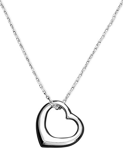 stunning-solid-925-sterling-silver-open-heart-necklace