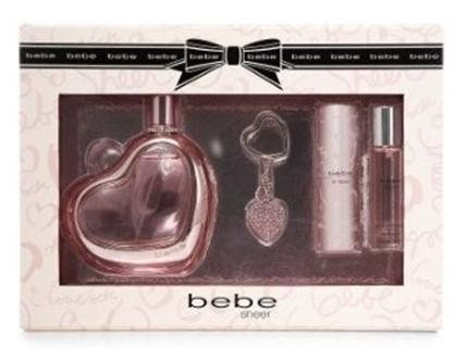 Bebe Sheer by Bebe 4 Piece Gift Set for Women