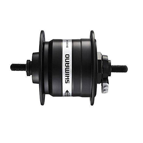 Shimano VR-Nabendynamo DH3N31ELG 100mm 32Loch Vollachse schwarz Fahrrad