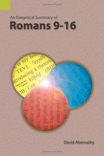 Dennis McCallum, Exegesis of Romans 9 and Romans 9-11