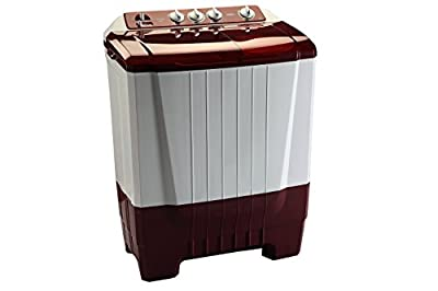 Onida Smart Care 68SSC Semi-autiomatic Top-loading Washing Machine (6.8 Kg, Lava Red)