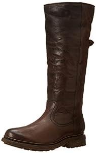 FRYE Women's Valerie Pull-On Snow Boot,Dark Brown,9.5 M US