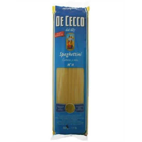 DE CECCO (ディ・チェコ) No.11 スパゲッティーニ 500g