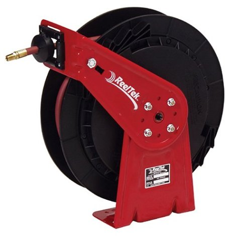 Reelcraft RT835-OMP 1/2-Inch by 35-Feet Spring Driven Hose Reel for Oil