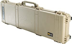 Pelican 1750 Gun Case with Foam Desert Tan