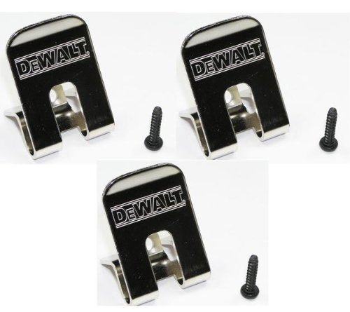 Black & Decker DeWalt Belt Clip/Hook 3-Pack for many Impact Driver and Drills # 659916-00SV-3pk at Sears.com