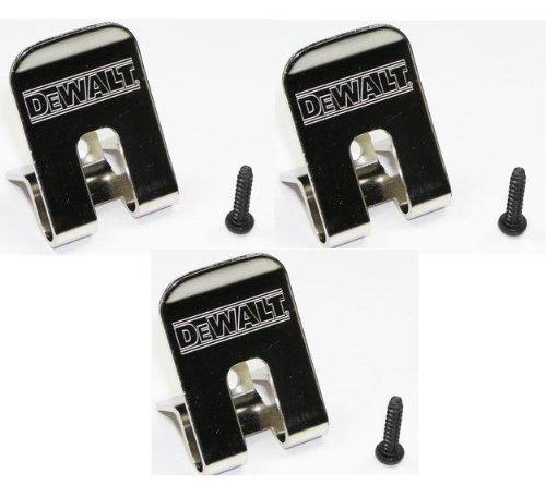 DeWalt Belt Clip/Hook 3-Pack for many Impact Driver and Drills # 659916-00SV