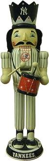 MLB New York Yankees 14-Inch Drummer Nutcracker