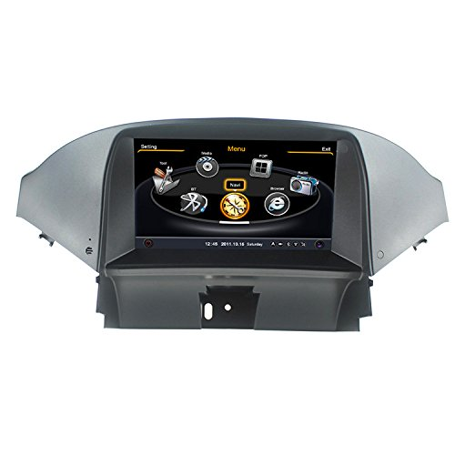 """LIKECAR S100 7"""" Car DVD per Chevrolet Orlando in precipitare auto navigazione GPS Audio Video Multimedia Radio 3G WiFi Bluetooth comandi al volante con carta libera"""