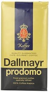 Dallmayr Gourmet Coffee, Prodomo (Ground), 8.8-Ounce Vacuum Packs (Pack of 3) from Dallmayr