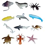 Underwater Aqua Marine Animals Toy Set - Pack Of 12x2 - 1c196 - Educational & Decorative Toys For Kids