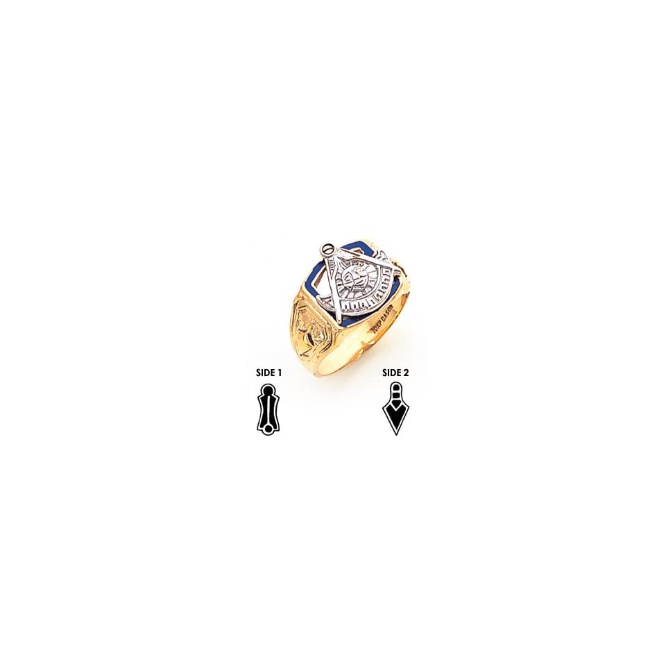Past Master Mason Ring   10k Gold/10kt yellow gold