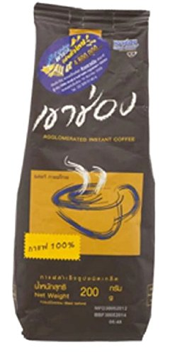 KHAO SHONG INSTANT COFFEE BROWN BAG 200G. (Gloria Jeans Whole Bean Coffee compare prices)