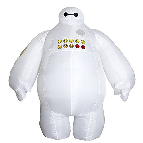Adults Big Inflatable Baymax Costume Mascot Outfit