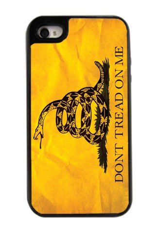Dont Tread On Me Best 3In1 Custom Cell Phone Case Cover For Iphone 4, Iphone 4S