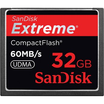 SanDisk 32 GB Compact Flash Memory Card SDCFX-032G-X46 (Black) (32 Gb Sandisk Cf compare prices)