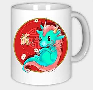 chinesische sternzeichen tasse drache tierkreiszeichen becher mug cup sign k che. Black Bedroom Furniture Sets. Home Design Ideas