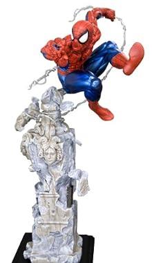 the AMAZING SPIDERMAN ファインアートスタチュー スパイダーマン アンリーシュド (1/6スケール コールドキャスト塗装済み完成品)