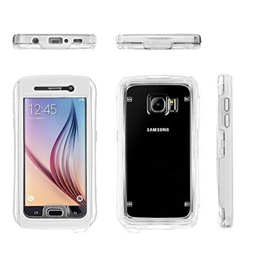 Samsung Galaxy S6 / S6 Edge Waterproof Case White ...