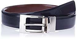 Covo Black and Brown Leather Men's Formal Belt (AXB18-32)