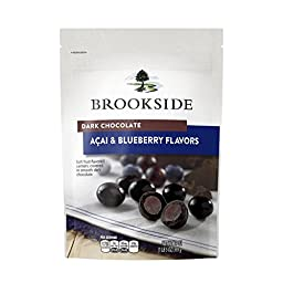 Brookside Dark Chocolate Candy, Acai and Blueberry, 21 Ounce
