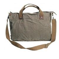 Vagabond Traveler Canvas Casual Messenger Bag (Military Green) by Vagabond Traveler
