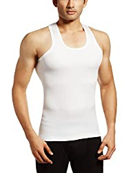 Rupa Frontline Men's Cotton Vest  (890397845269 (XING RN-White-95)