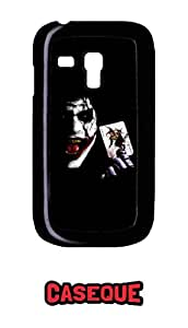 Caseque Joker Back Shell Case Cover for Samsung Galaxy S3 Mini