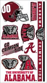 Alabama Crimson Tide Temporary Tattoos