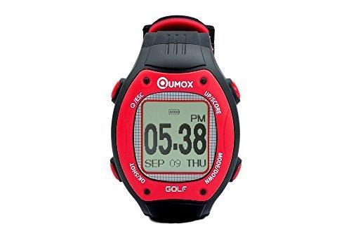QUMOX Golf Orologio impermeabile IPX7 GPS Course Guarda Hole Distanza contatore del segno telemetro 30.000 mappa precaricata