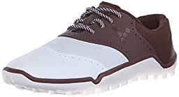 Vivobarefoot Men\'s Linx Golf, Chocolate/White, 45 EU/11.5-12 M US