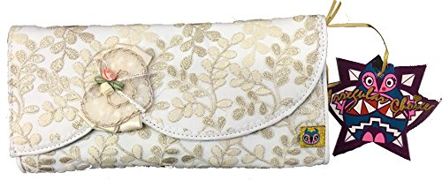 Irregular Choice Glinda Clutch Cream