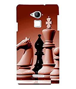 printtech Chess Play Back Case Cover for COOLPAD NOTE 3 / COOLPAD NOTE 3 PLUS