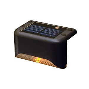Terratec 604603007772 Black Solar Stair Step Light