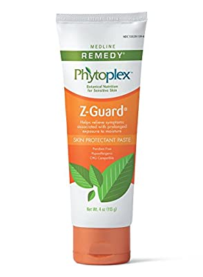 Medline Remedy Phytoplex Z-Guard Skin Protectant Paste, 4 Ounce