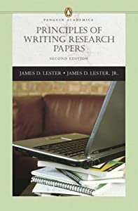 writing research papers james d lester