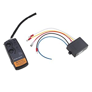 65ft 12 volt Wireless Winch Remote Control Swithc System For Truck 4x4 vehicles Jeep ATV SUV UTV from BrainyTrade