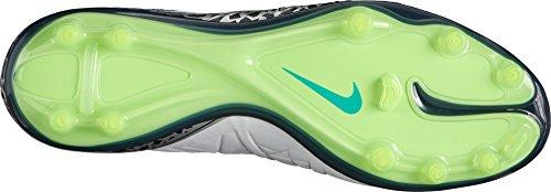 Nike Herren Hypervenom Phatal Ii Df Fg Fußballschuhe, Plateado (Pure Platinum/Black-Ghost Green), 43 EU -