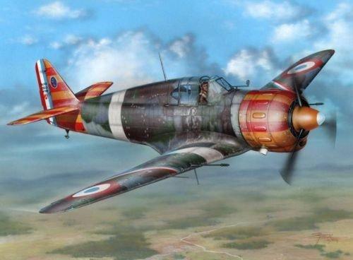 Maquette Bloch MB. 152C. 1 Aviation de Vichy, 1942