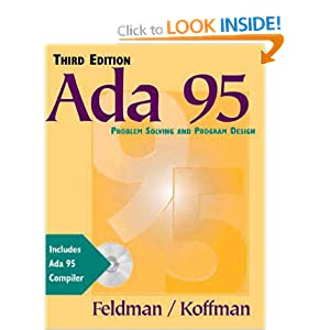 ADA 95: Problem Solving and Program Design with Object ADA CD-ROM